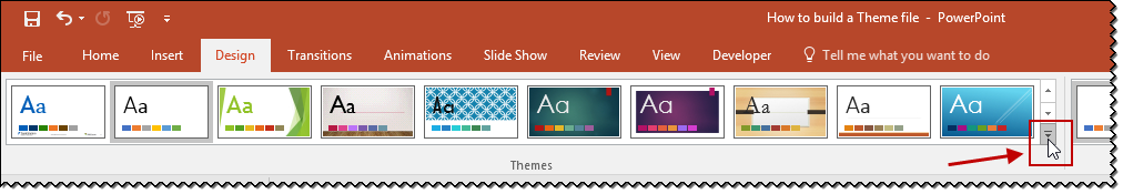 Microsoft Office Themes Ribbon2