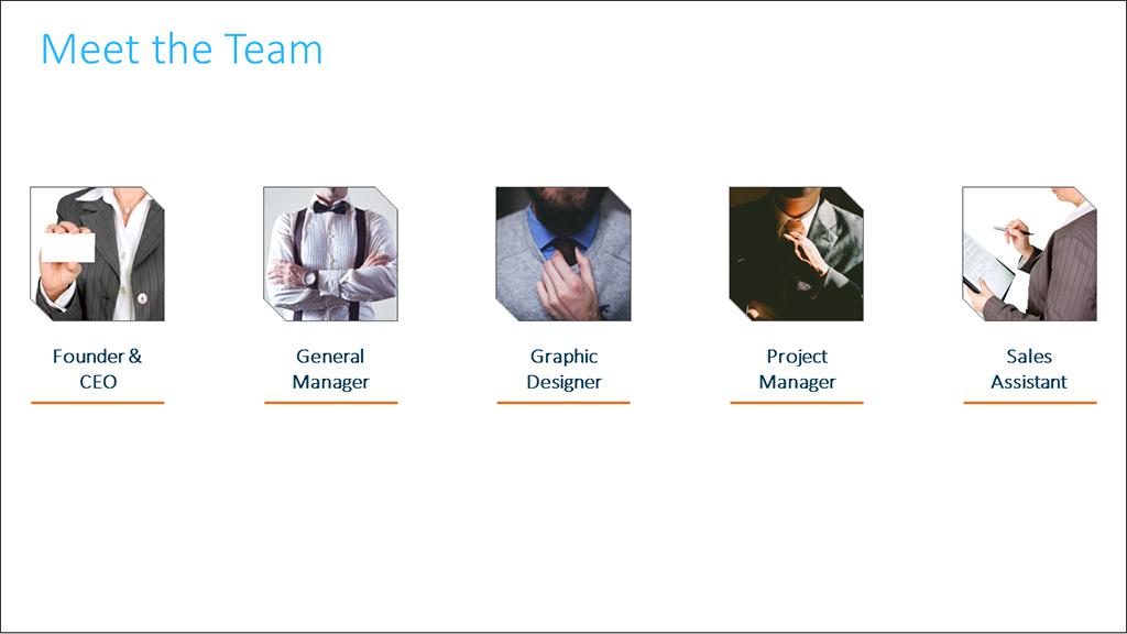 PowerPoint Team Slide Layout